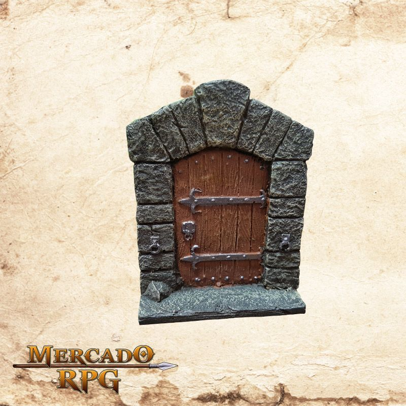 Porta de madeira Grande