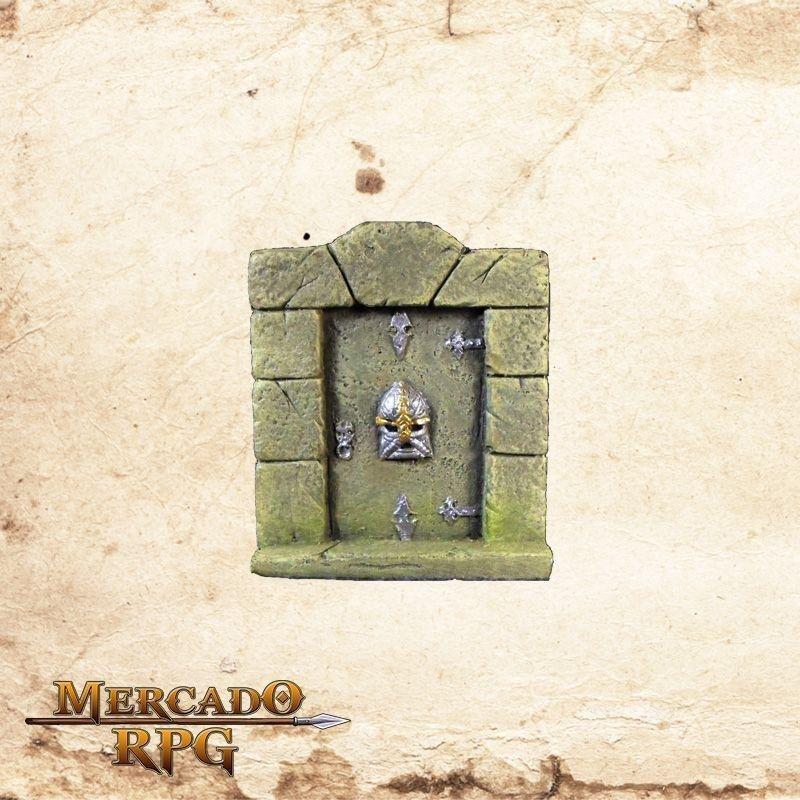 Porta de pedra  - Mercado RPG