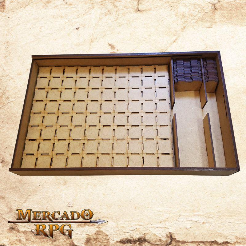 Porta Grid Modular 3D - D20  - Mercado RPG