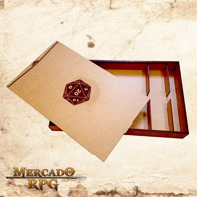 Porta Grid Modular 3D - D&D  - Mercado RPG