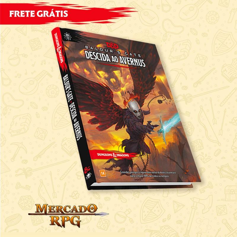 D&D 5e - Descida ao Avernus - Edição em português