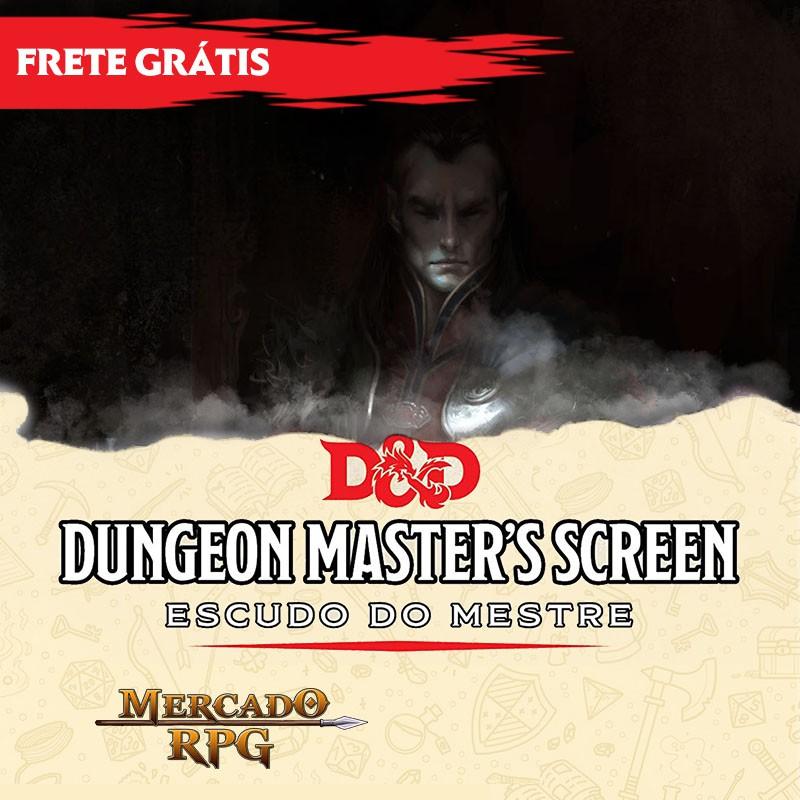 PRÉ-VENDA - D&D 5e - Escudo do Mestre - A Maldição de Strahd - Edição em português