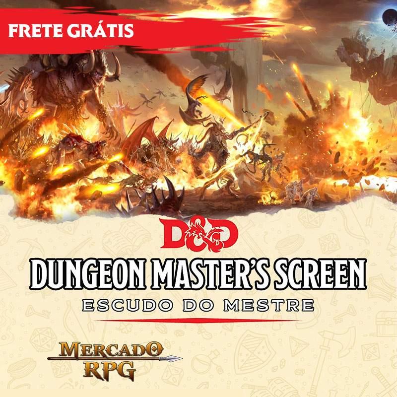 PRÉ-VENDA - D&D 5e - Escudo do Mestre - Descida ao Avernus - Edição em português