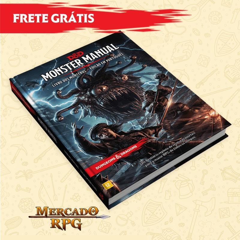 D&D 5e - Livro dos Monstros - Edição em português
