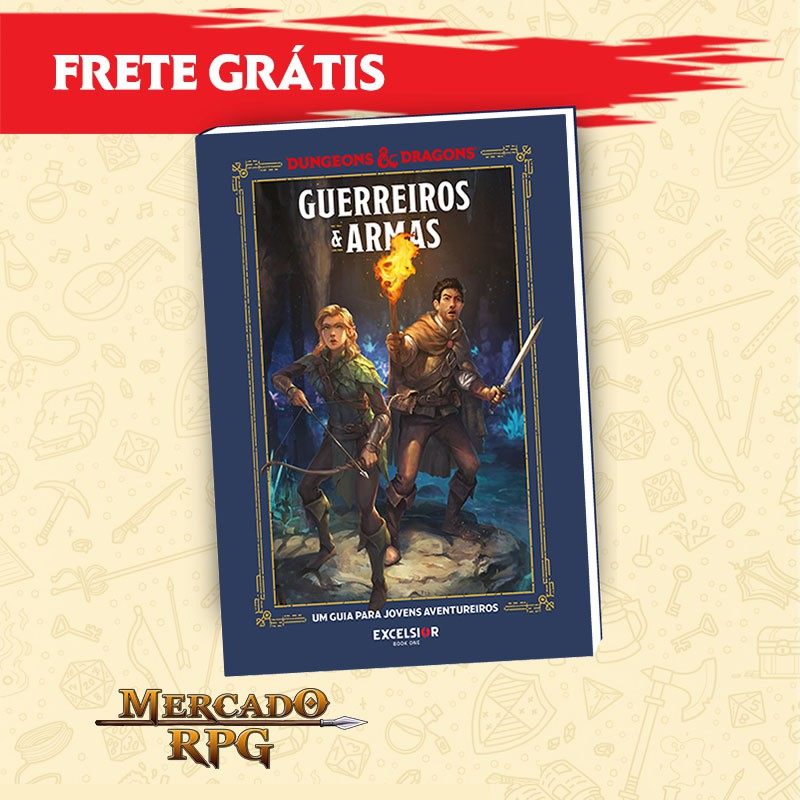 D&D - Guerreiros & Armas - Edição em português