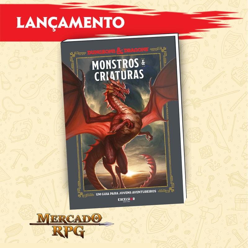 PRÉ-VENDA - D&D - Monstros e Criaturas - Edição em português  - Mercado RPG