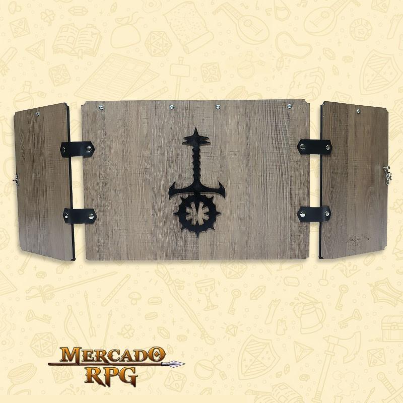 PRÉ-VENDA - Escudo de Carvalho Premium - Sabbat - RPG