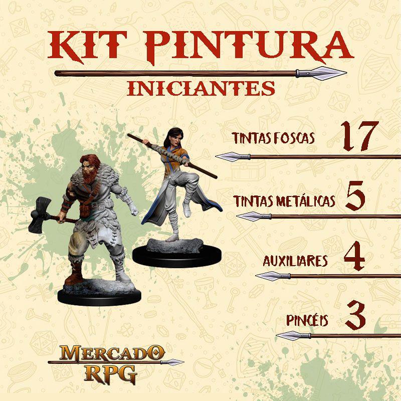 Kit de Pintura para Iniciantes - RPG