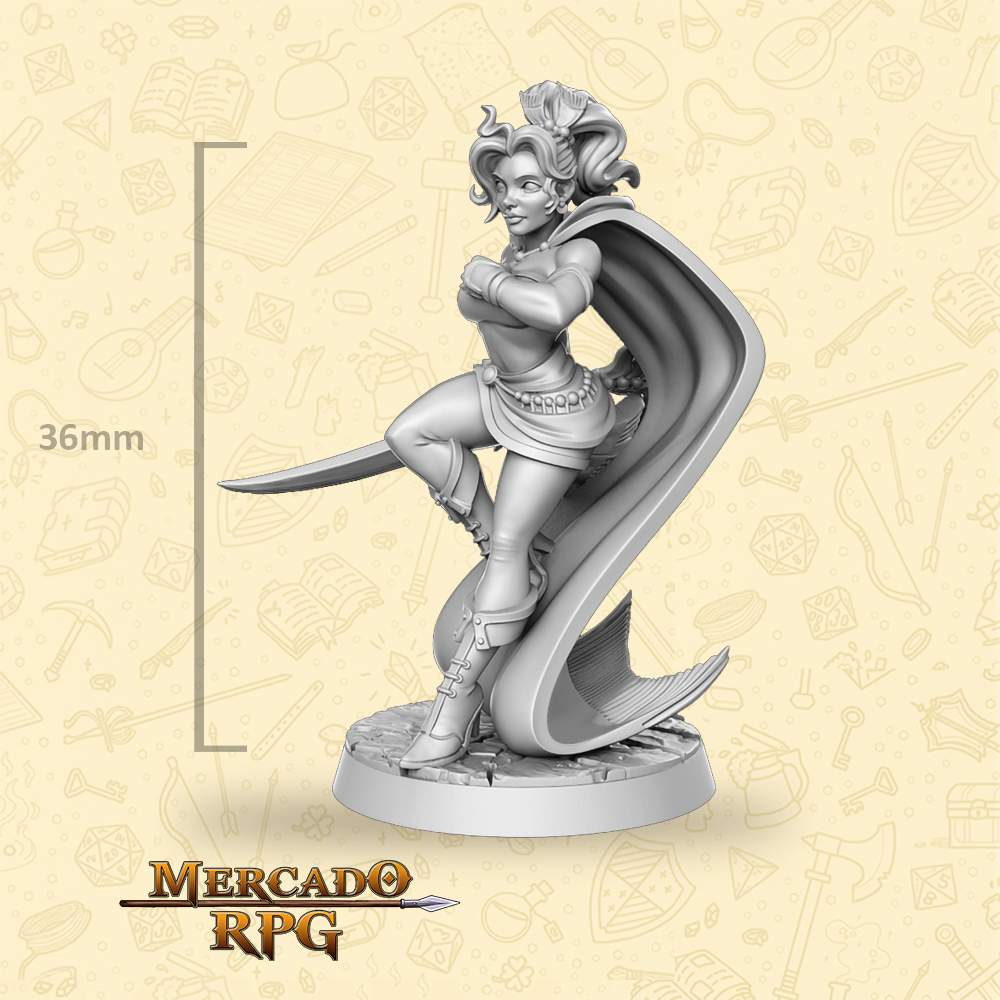 Prissa - Miniatura - RPG