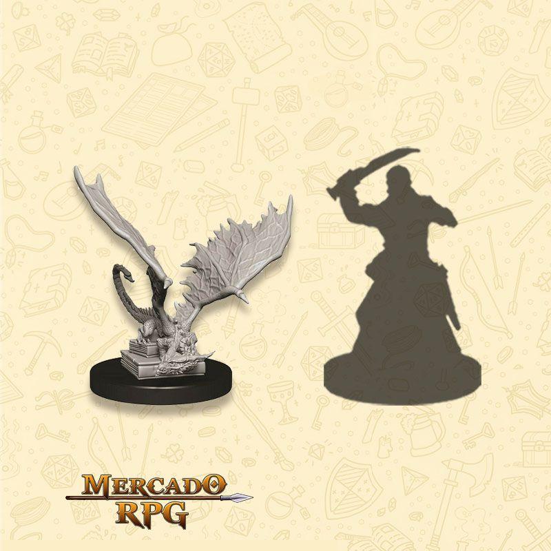 Pseudodraon - Miniatura RPG  - Mercado RPG