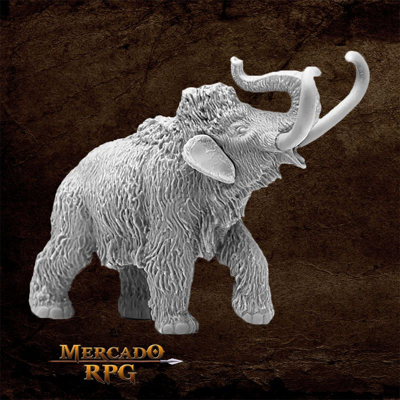 Pygmy Mammoth - Miniatura RPG