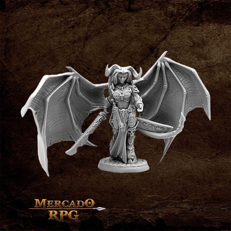 Queen of Hell - Miniatura RPG