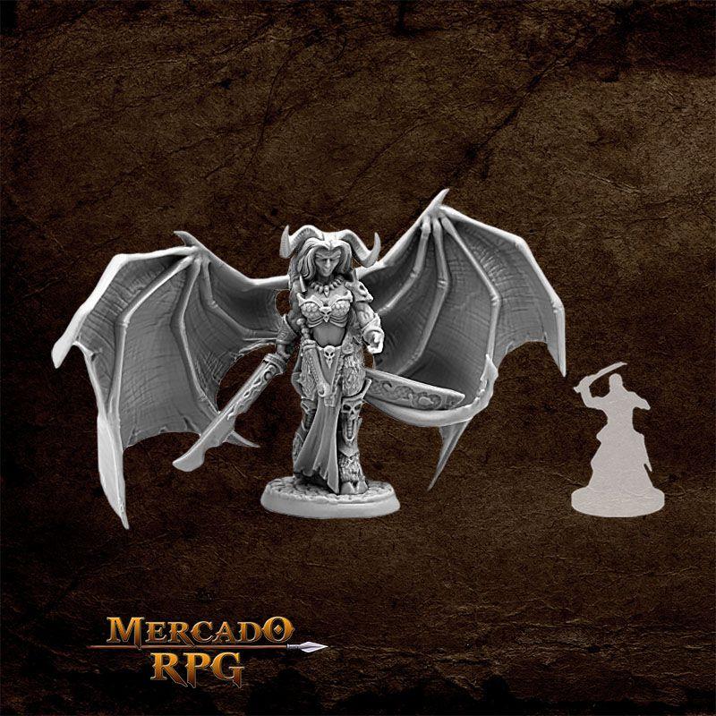 Queen of Hell - Miniatura RPG  - Mercado RPG