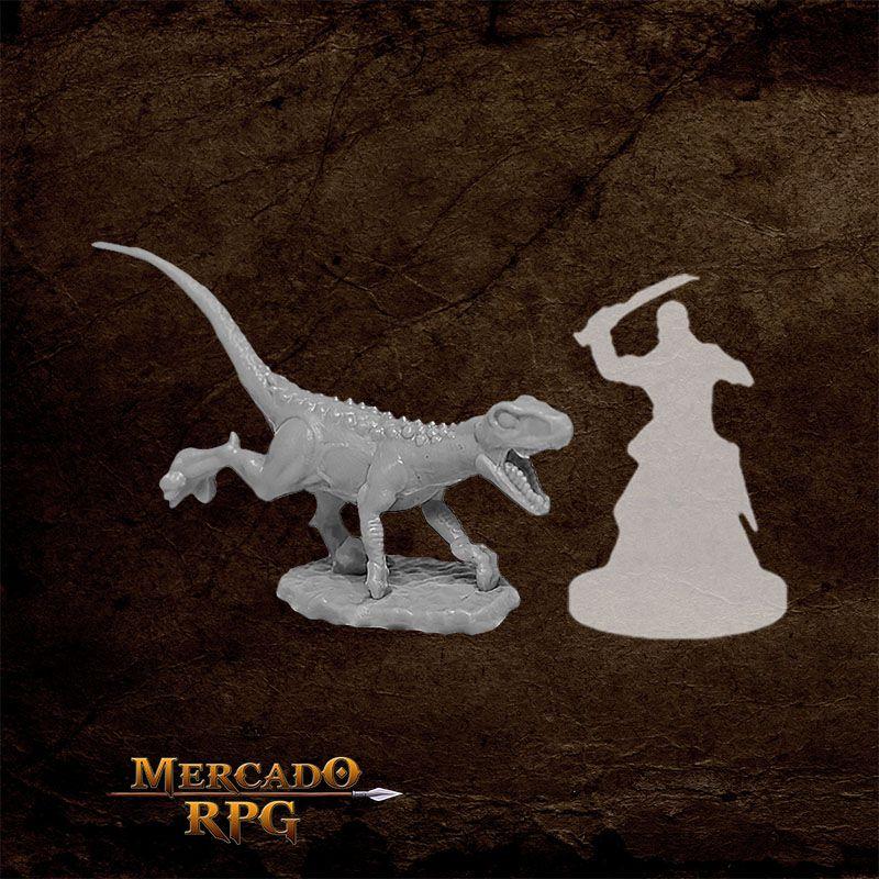 Raptor Hunting A - Miniatura RPG  - Mercado RPG