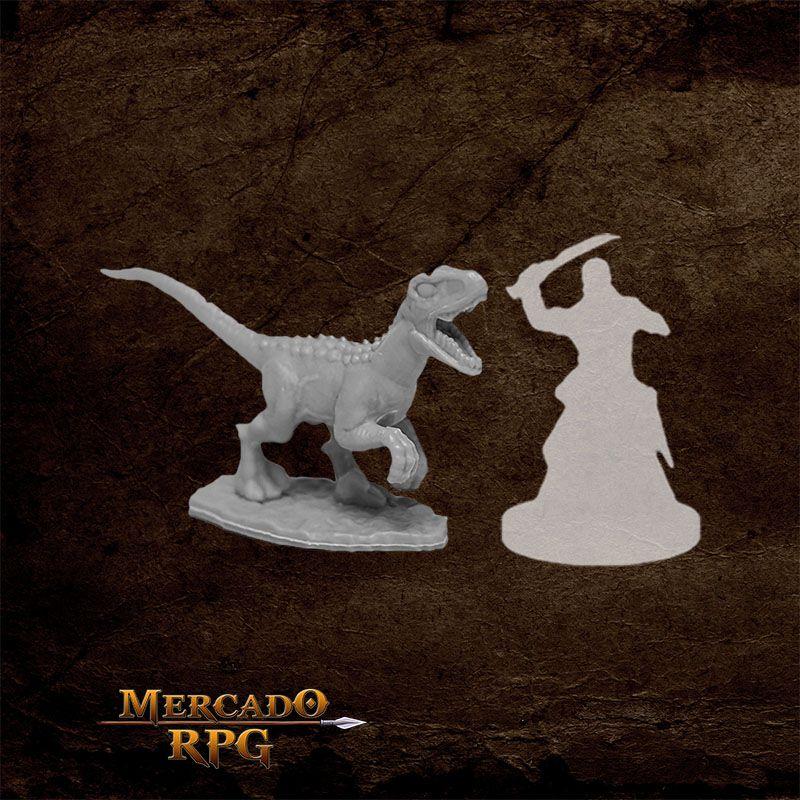 Raptor Hunting B - Miniatura RPG  - Mercado RPG