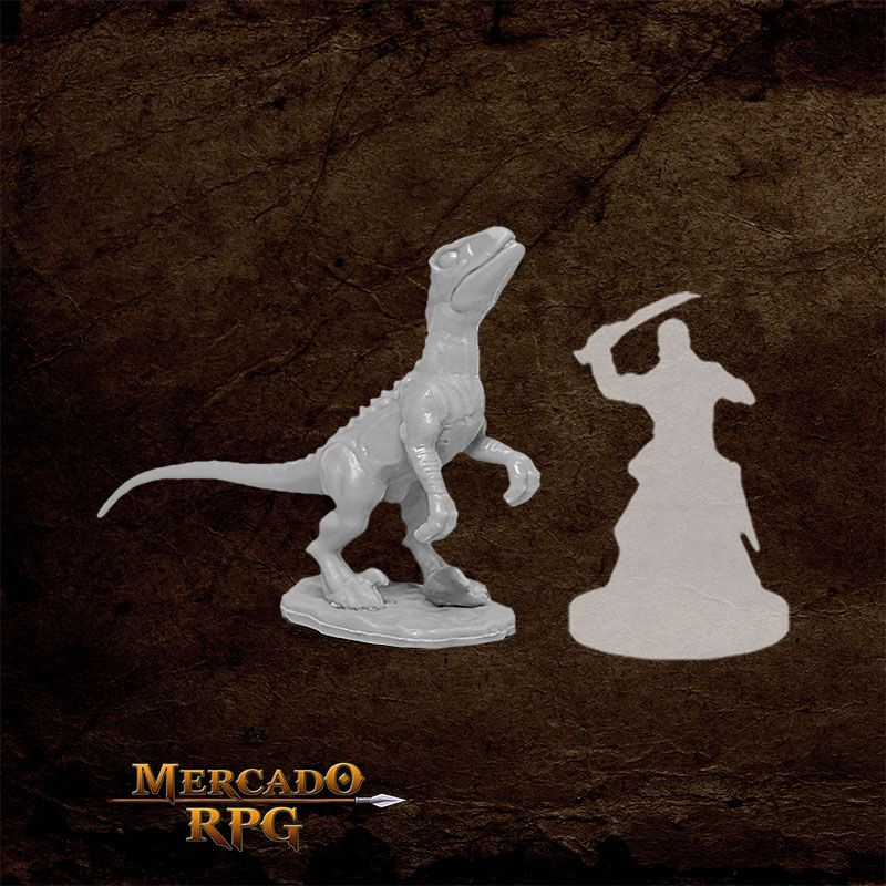 Raptor Hunting E - Miniatura RPG  - Mercado RPG
