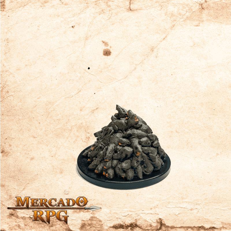 Rat Swarm - Sem carta  - Mercado RPG