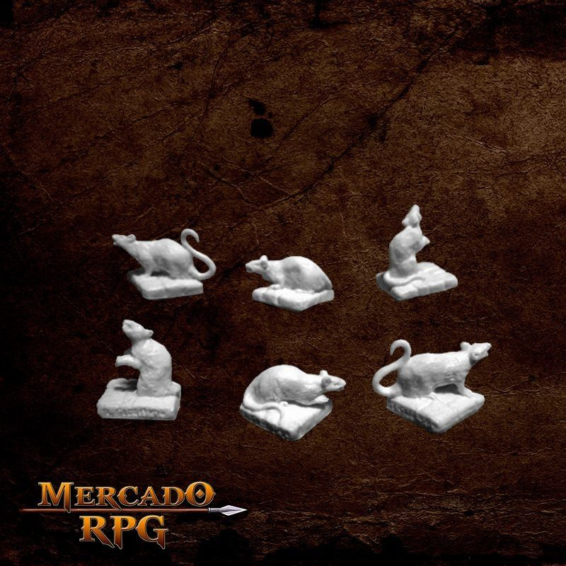 Rats (6)  - Mercado RPG