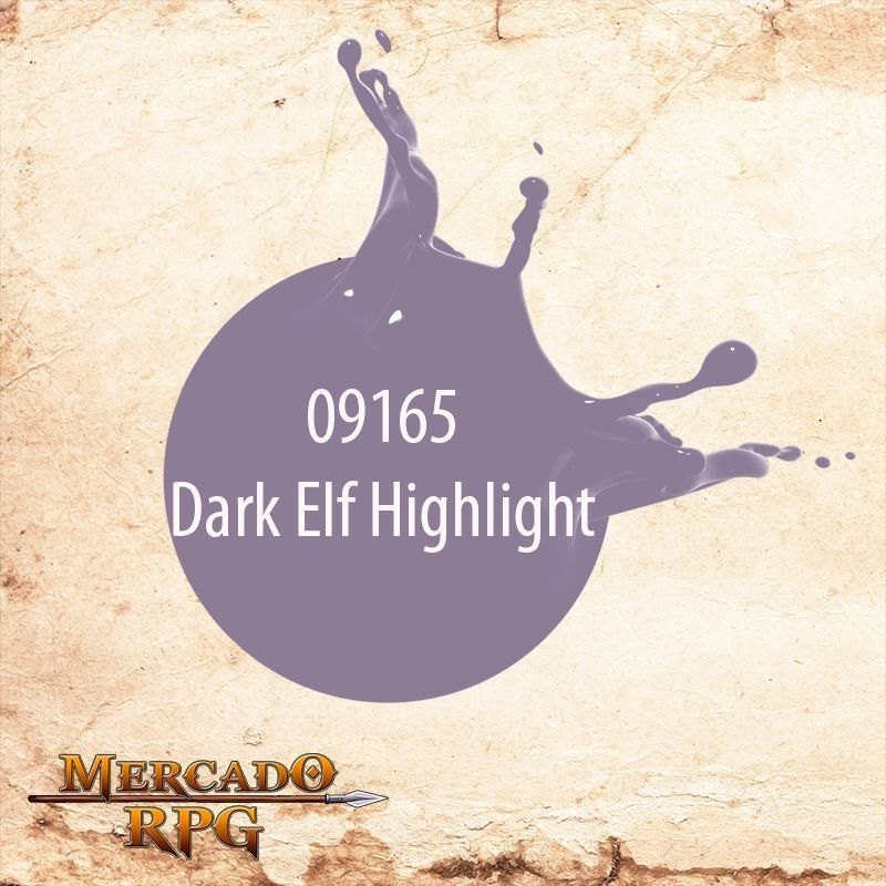 Reaper MSP Dark Elf Highlight 9165  - Mercado RPG
