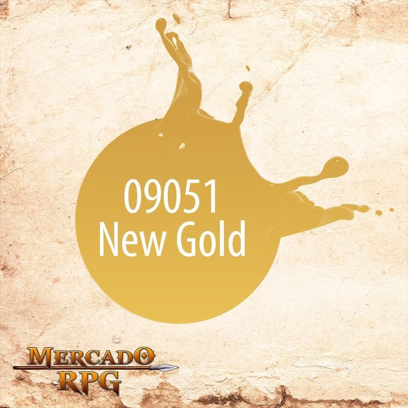 Reaper MSP New Gold 9051  - Mercado RPG