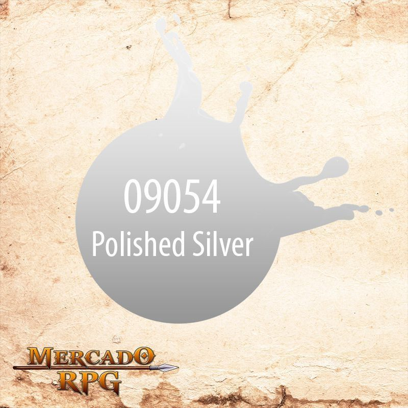 Reaper MSP Polished Silver 9054  - Mercado RPG