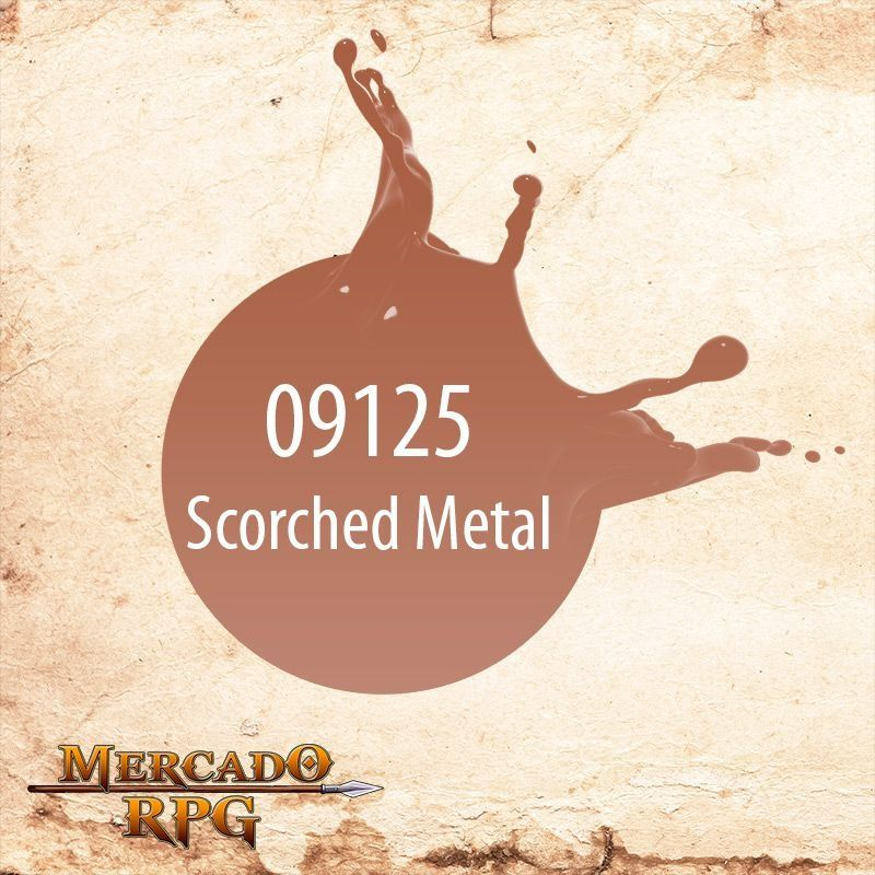 Reaper MSP Scorched Metal 9125  - Mercado RPG