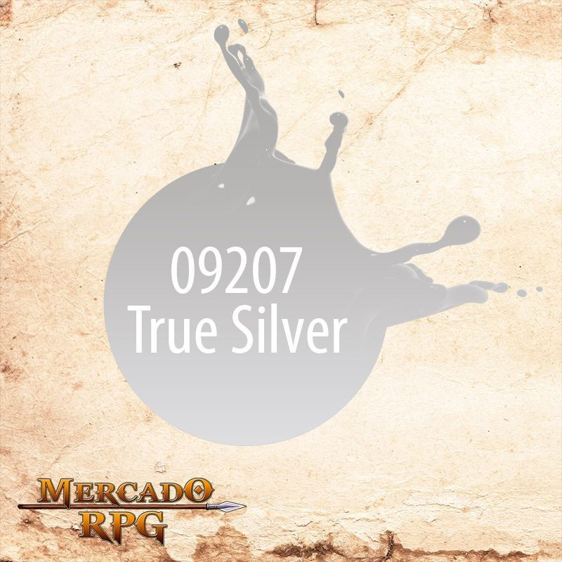 Reaper MSP True Silver 9207  - Mercado RPG