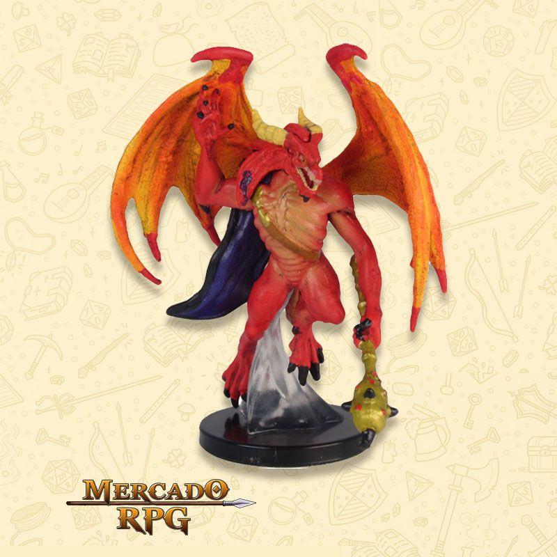 Red Abishai - Miniatura RPG  - Mercado RPG