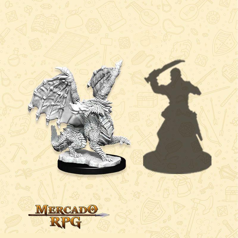 Red Dragon Wyrmling - Miniatura RPG  - Mercado RPG