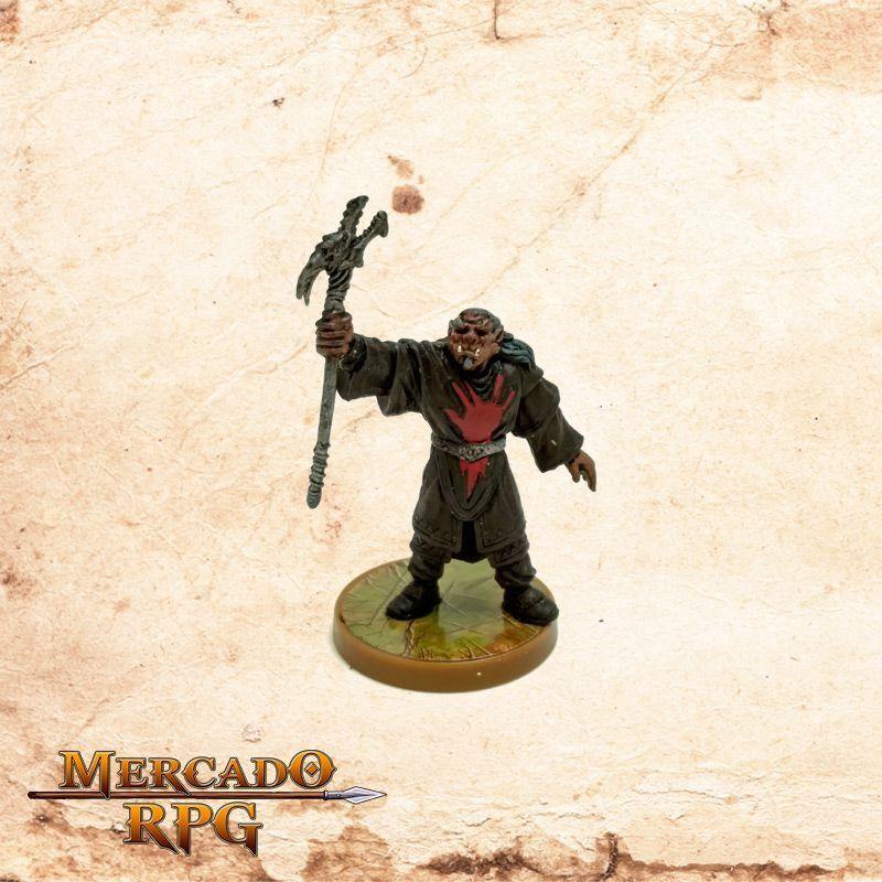 Red Hand War Sorcerer (Base especial) - Sem carta  - Mercado RPG
