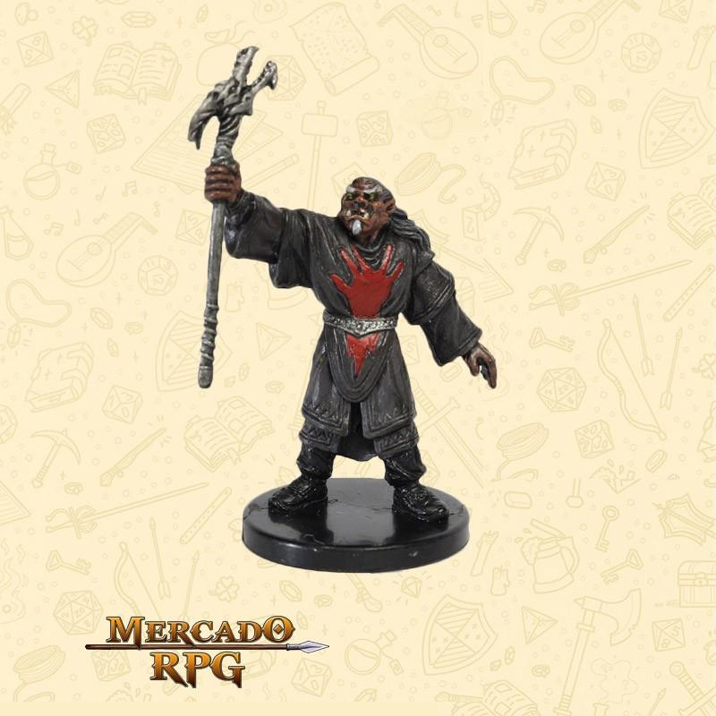 Red Hand War Sorcerer - Miniatura D&D - RPG