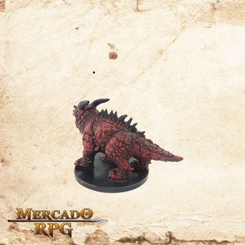 Redspawn Firebelcher - Com carta  - Mercado RPG