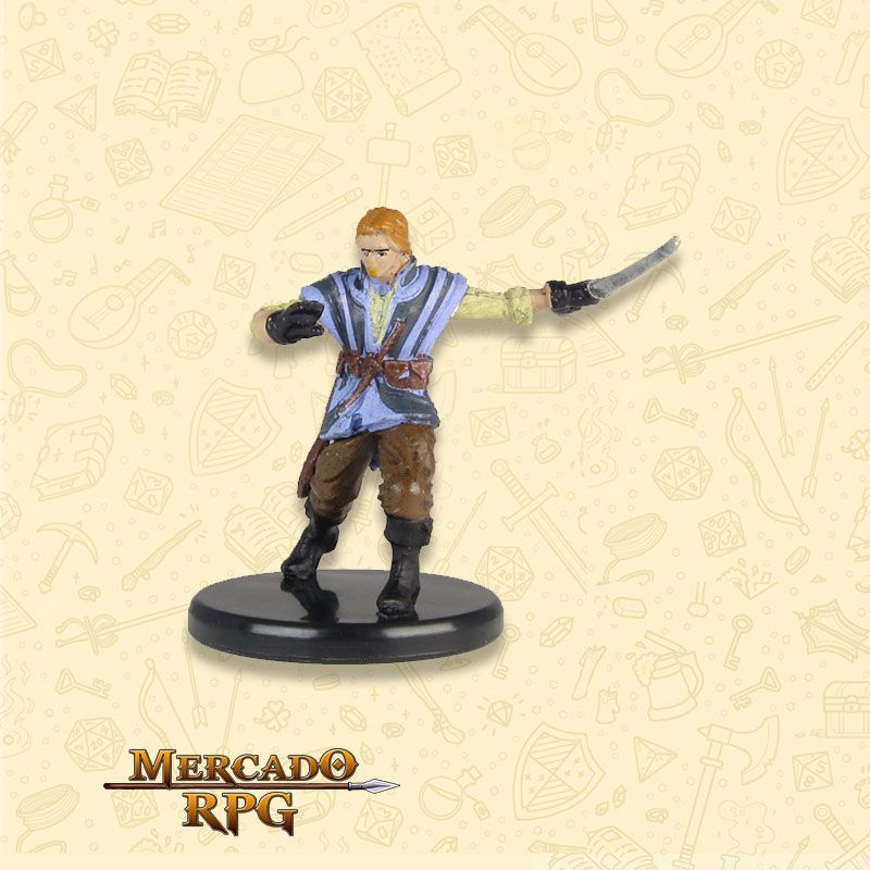 Renaer Neverember - Miniatura RPG D&D Icons of the Realms