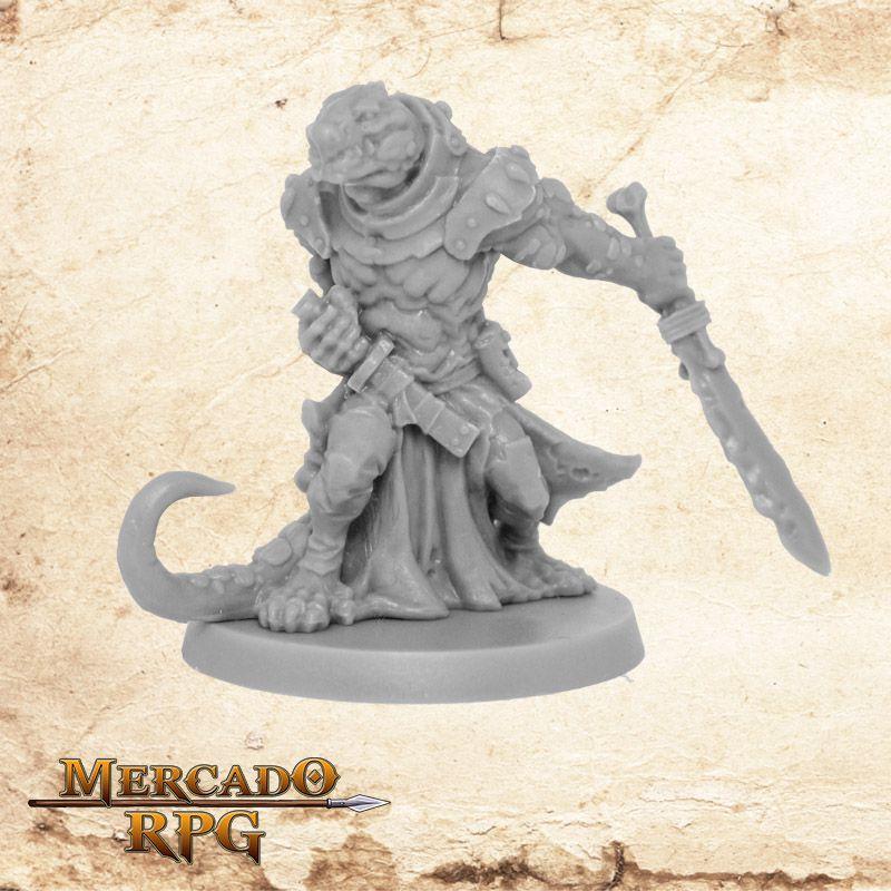 Reptisaurian Warrior