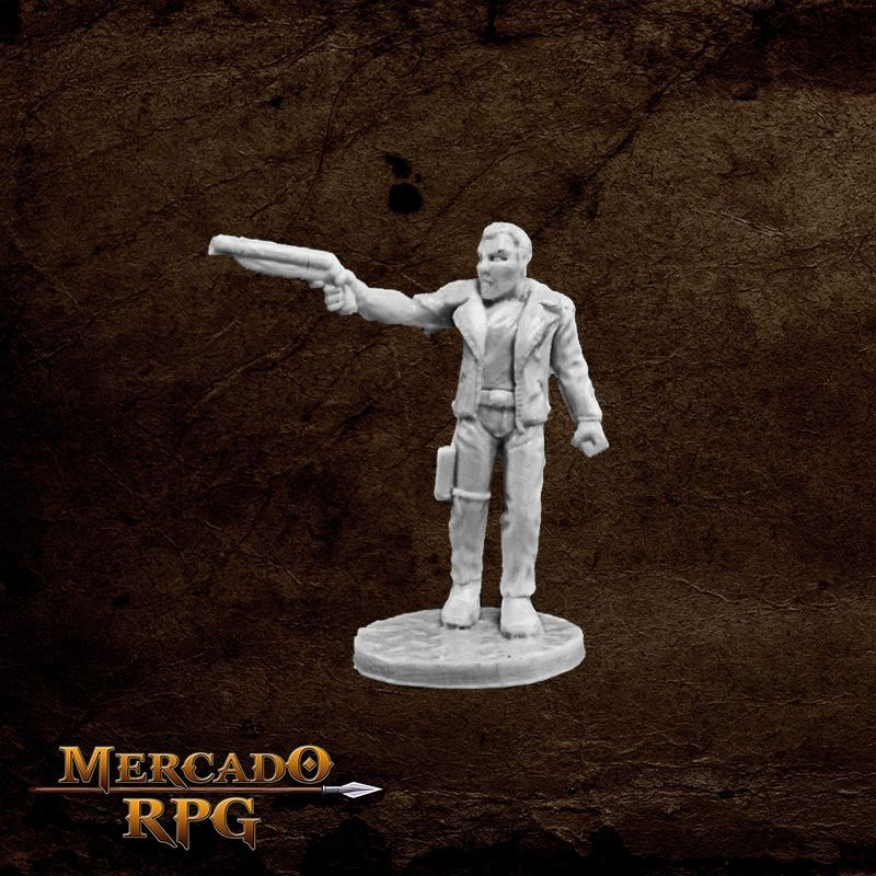 Rex, Dark Future Hero  - Mercado RPG