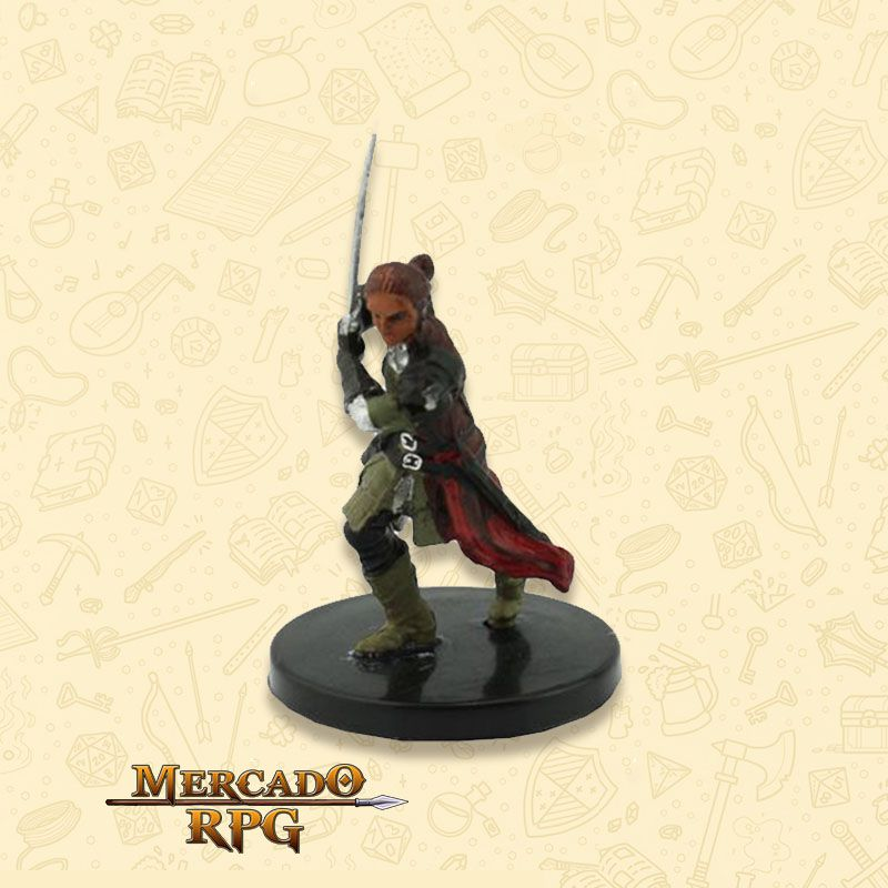 Reya Mantlemorn - Miniatura RPG