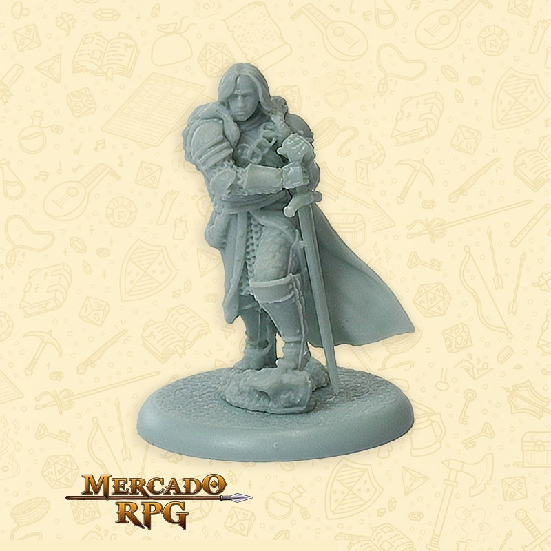 Robb Stark - Song of Ice and Fire - Miniatura RPG