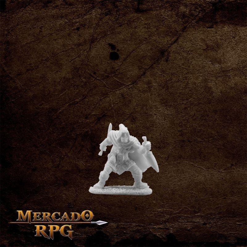 Rogan, Half Orc Rogue  - Mercado RPG