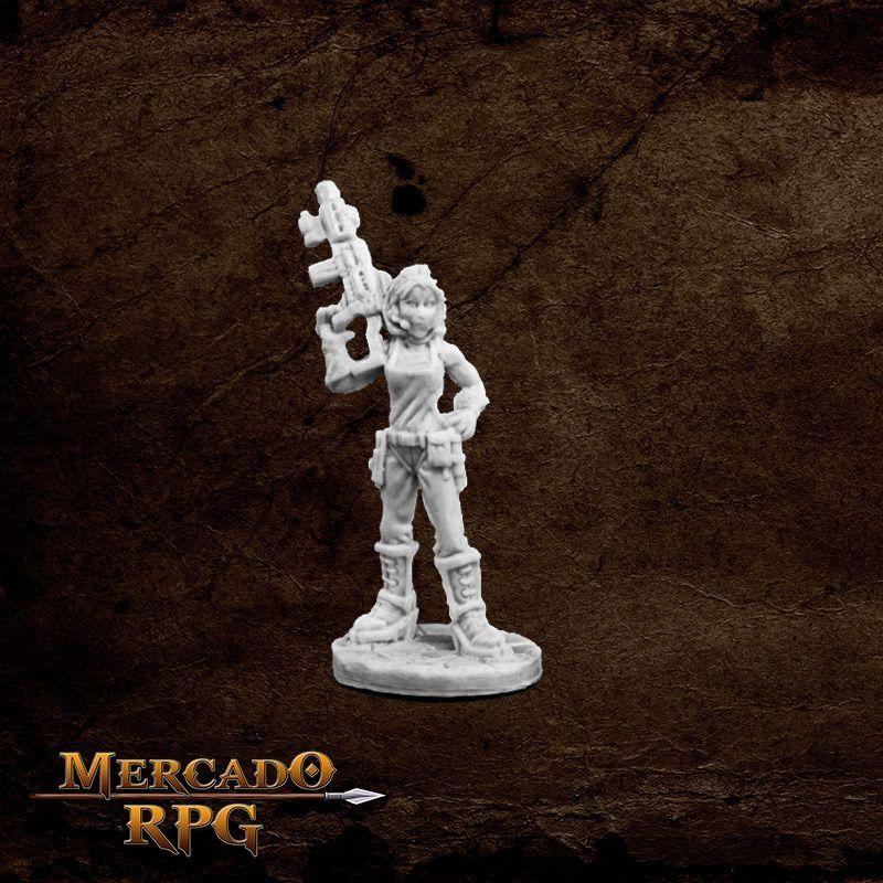 Rosie, Chronotechnician  - Mercado RPG