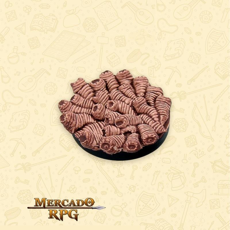 Rot Grub Swarm - Miniatura RPG  - Mercado RPG
