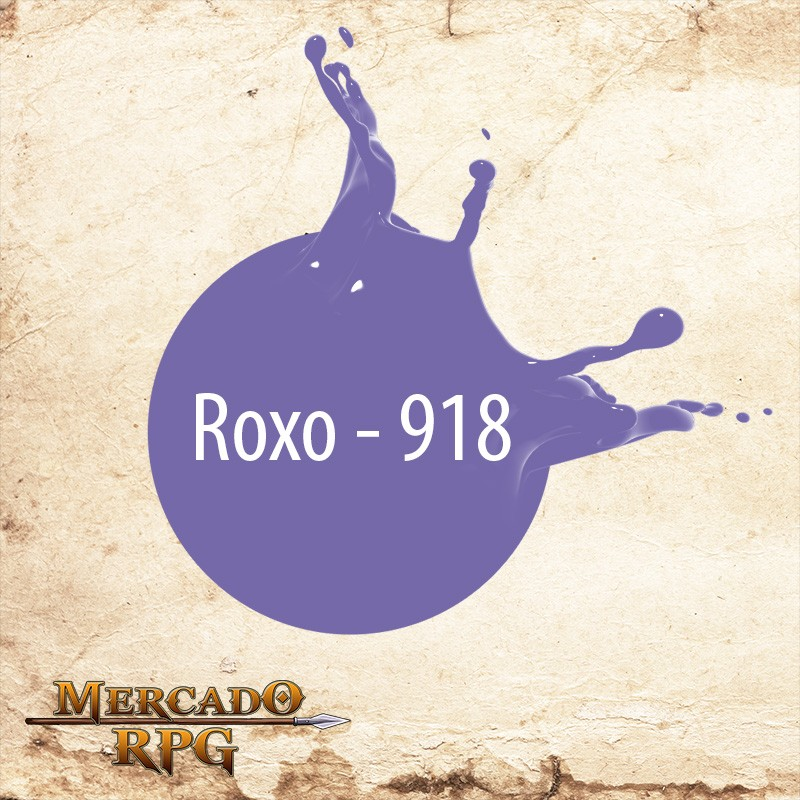 Roxo - 918  - Mercado RPG