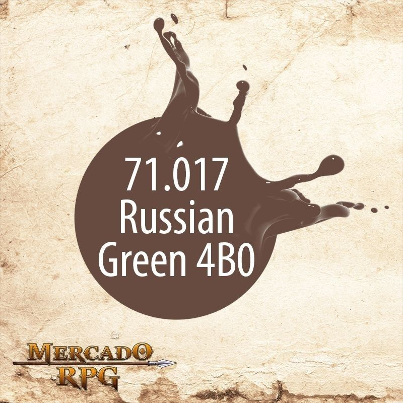 Russian Green 4B0 71.017  - Mercado RPG