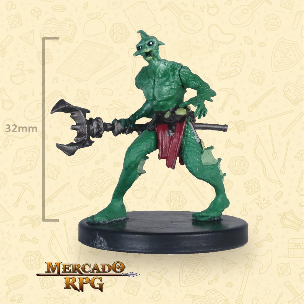 Sahuagin Mystic - Icons of the Realms Classic Creatures - Miniatura D&D - RPG