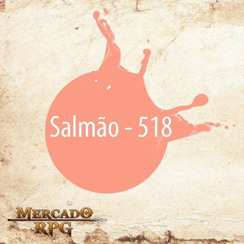 Salmão 518 - Tinta Acrílica Fosca Nature Colors 60ml - Acrilex - RPG