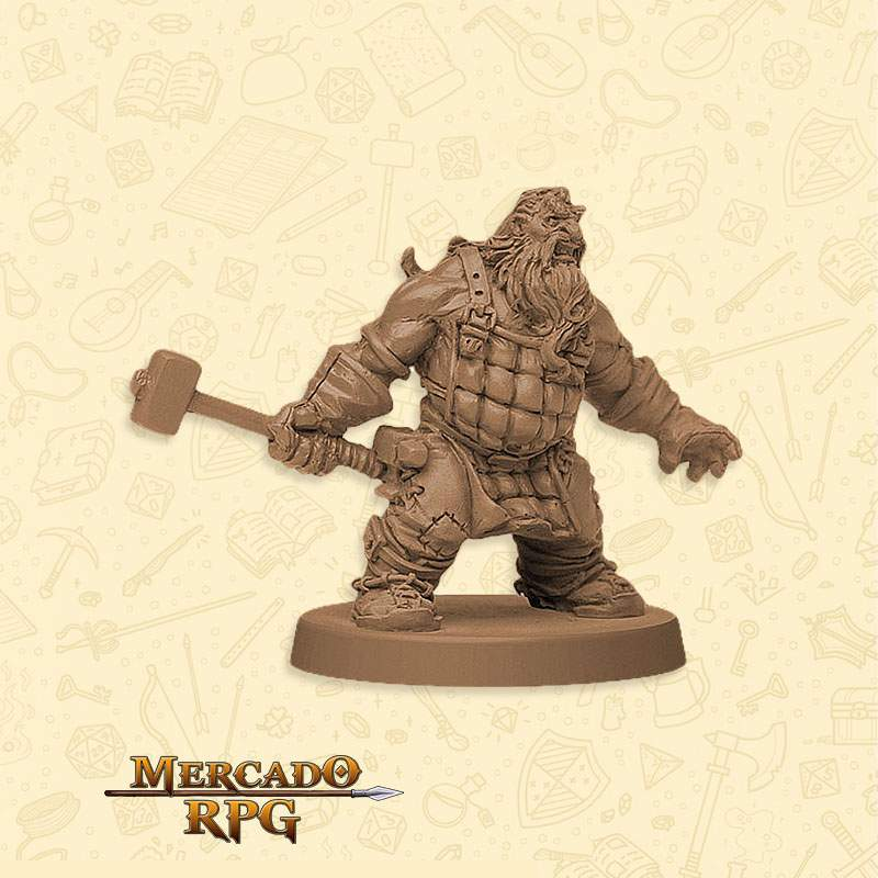 Miniatura Zombicide Samson - Miniatura RPG