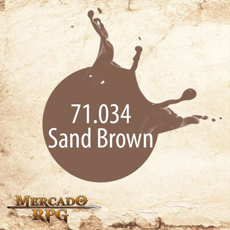 Sand Brown 71.034  - Mercado RPG