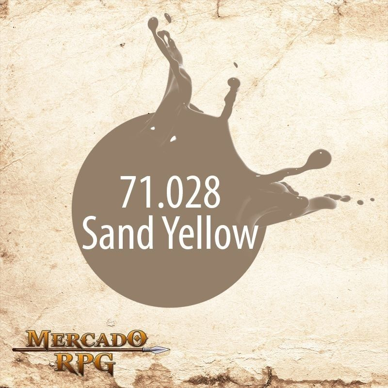 Sand Yellow 71.028  - Mercado RPG