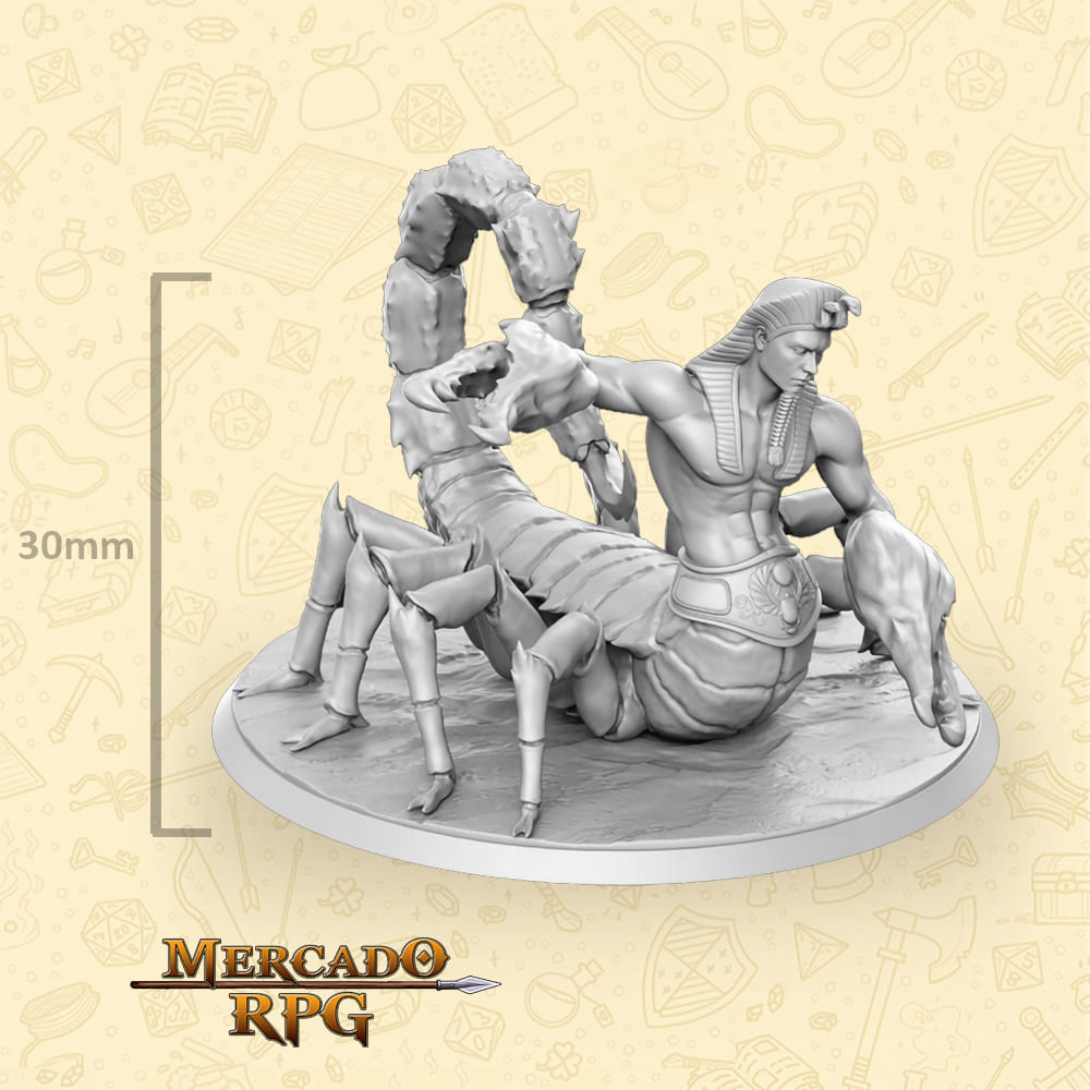 Scarapion - Miniatura - RPG