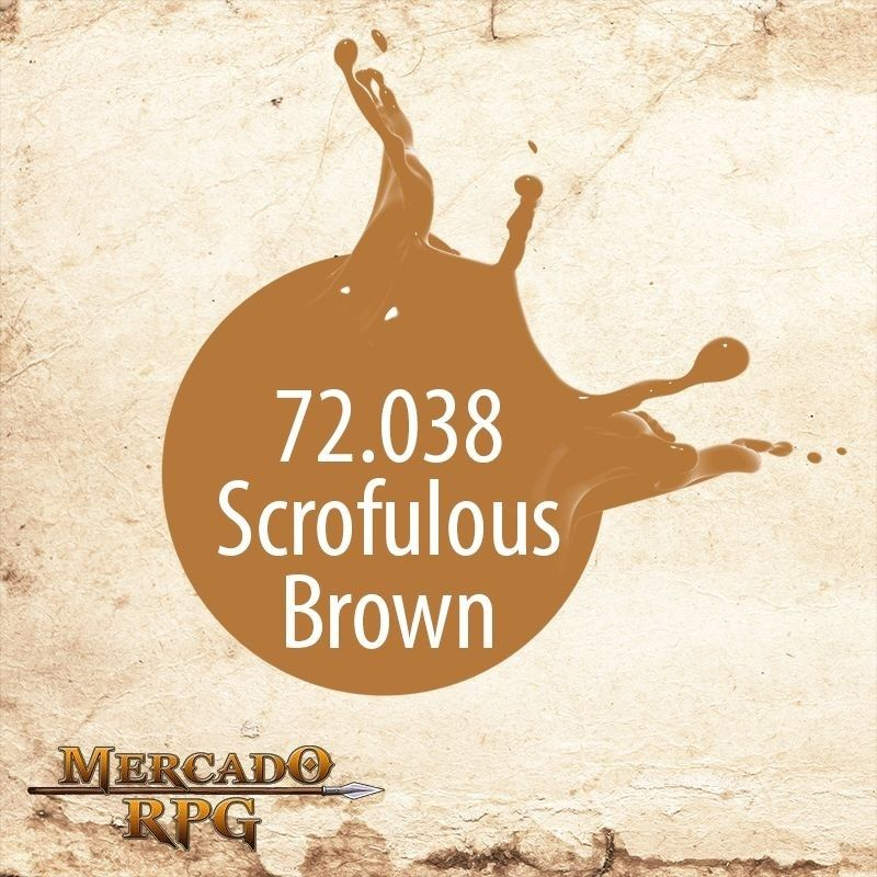 Scrofulous Brown 72.038  - Mercado RPG