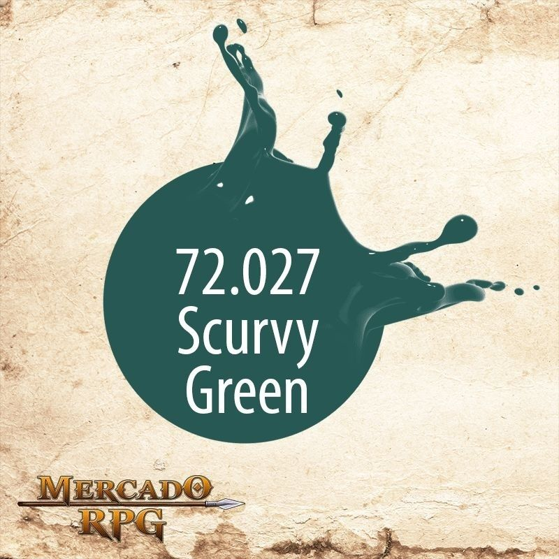Scurvy Green 72.027  - Mercado RPG